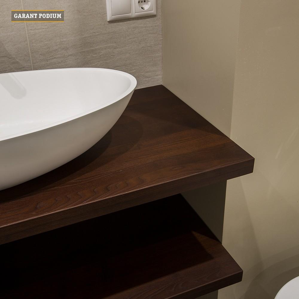 Мебель в ванну из дерева