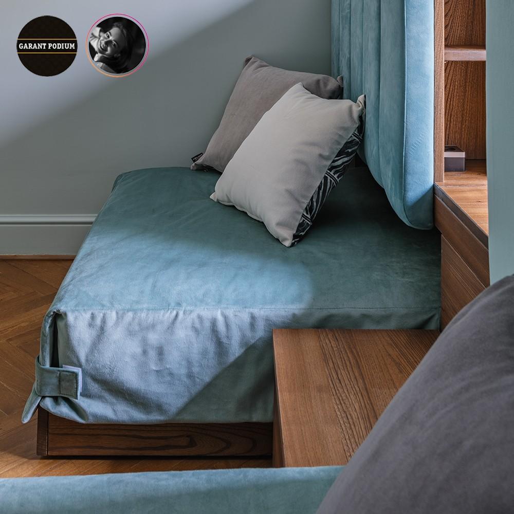 Подиум с выдвижными кроватями